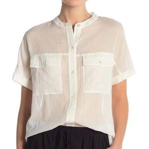Theory Rilley Short Sleeve Pocket Shirt